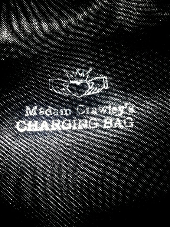 Madam Crawley's Stonehenge CHARGING BAG  Recharge & Cleanse your  Spell/Entity Cast Jewelry